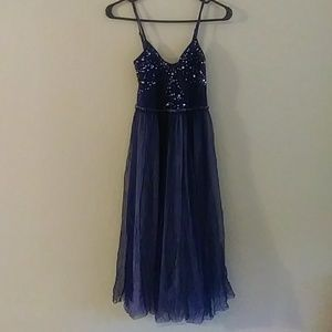 NWT Free People Sequin Tulle Dress S